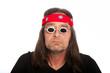 Hippie Old Man