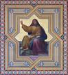 Vienna - fresco of Hosea prophets  in Altlerchenfelder church