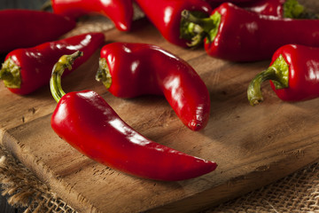 Organic Red Spicy Fresno Peppers
