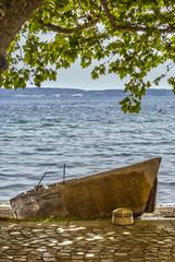 barca in riva