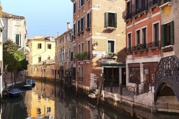 picturesque cityscape of Venice