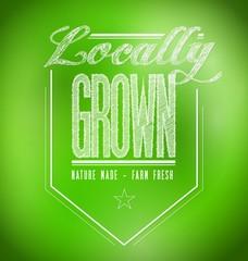 locally grown illustration design