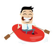 boot rettung hilfe gummiboot sicherheit