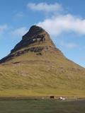 Bergkuppe auf der Halbinsel Snaefellsnes poster