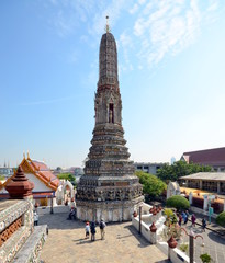 Stupa in the temple complex of Wat Arun