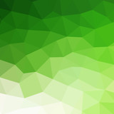 Fototapety Abstract green colorful geometric background