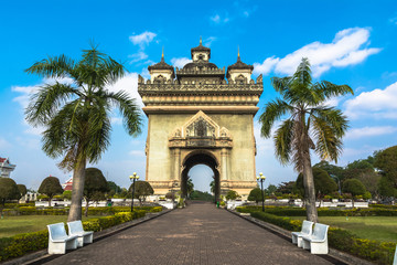 Patuxai, the Victory Gate