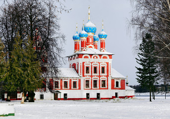 Church of Dmitry on the Blood in Uglich Kremlin, Russia