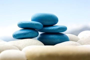 Blue Stones in Balance