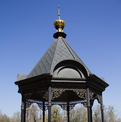 Sviatohorskiy national open-air museum pavilion