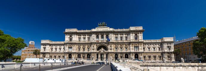 View of Palazzo di Giustizia in Rome, Italy
