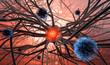 Nervenzellen und Viren
