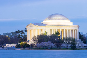 Thomas Jefferson Memorial building