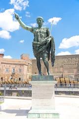 Statue of the emperor Octavian Augustus, Rome, Italy