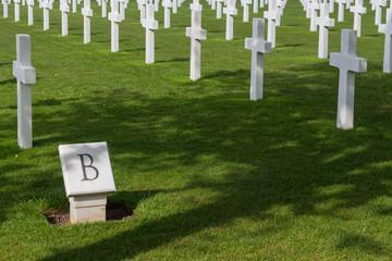 Cimetière de soldats