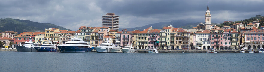 Imperia. Coastal city in the region of Liguria, Italy