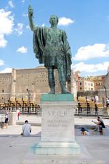 Statue of the emperor Nerva, Rome, Italy