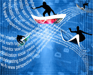 wave of Internet