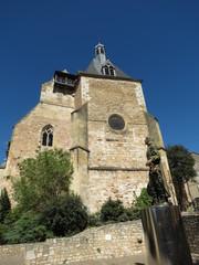 Dordogne - Bergerac - Façade église St-Jacques