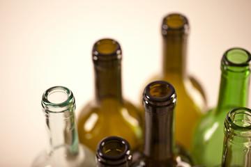 weinflaschen altglas recycling rohstoff