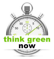 think green now