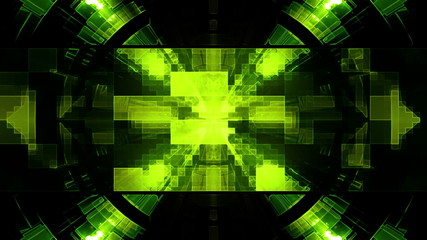 VJ science fiction looping animated background N1D