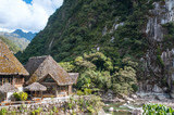 Aguas Calientes, the town at the foot of the sacred Machu Picchu - 65294062