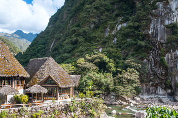 Aguas Calientes, the town at the foot of the sacred Machu Picchu