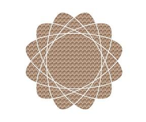 Spirograph flower