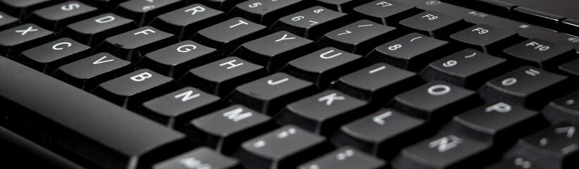 teclado negro