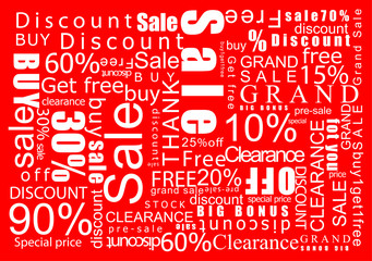 grand sale clearance salce typo saving money