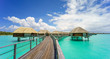 Leinwanddruck Bild - Bora Bora