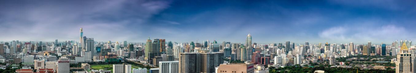 Bangkok city panorama