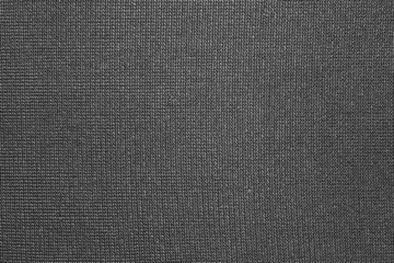 texture of black nylon fabric