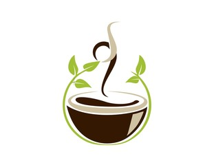 coffee cup logo design symbol icon