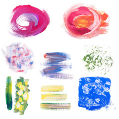 grunge hand drawn textures, art paints
