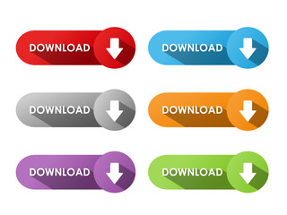 """DOWNLOAD"" Buttons (internet search save document upload share)"