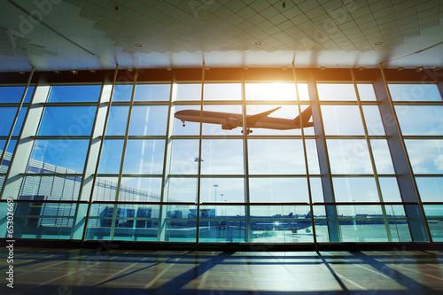 Plexiglas Luchthaven airport