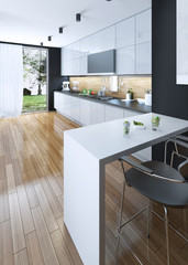 Kitchen dining modern style