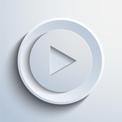 Vector play button background