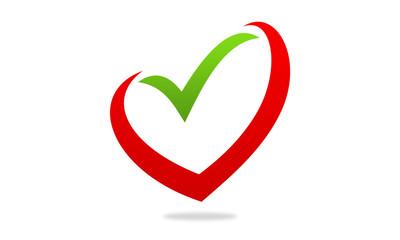 love check option logo