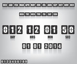 Countdown Timer and Date