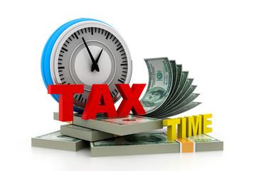 Tax time money