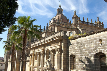 Cathedral of San Salvador city of Jerez de la Frontera, Spain, A