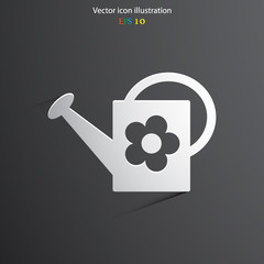 Vector bailer web icon