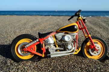 Motorbike on the Beach