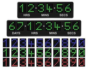 LED Countdown Timer