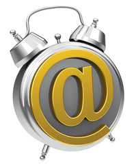 the e-mail alarm clock