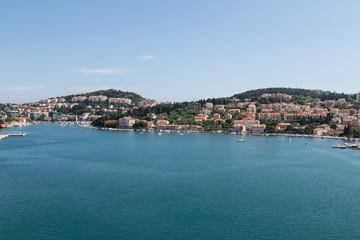 Croatian Homes Across Calm Blue Bay