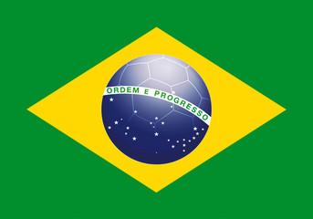 drapeau brésil bresilien ballon flag brazil balon kazy